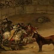 Bullfight - Suerte De Varas Art Print
