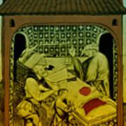 Butcher, Medieval Tradesman Art Print