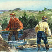 California Gold Rush Art Print