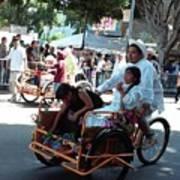 Carnival Cart Art Print