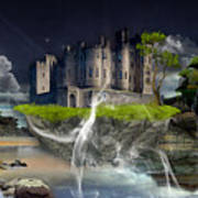 Castle In The Sky Art Art Print