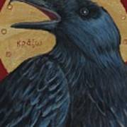 Caw Art Print by Amy Reisland-Speer