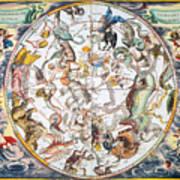 Celestial Planisphere, 1660 Art Print