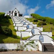 Chapel In Azores Islands Art Print