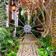 Charleston Gated Garden Art Print