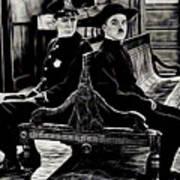 Charlie Chaplin Collection Art Print