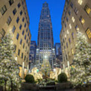 Christmas In New York Art Print