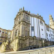 Church Of Clerigos Porto Art Print