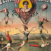 Circus Poster, C1890 Art Print