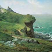 Cliffs Of Greville Art Print