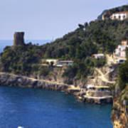 Furore - Coast Of Amalfi Art Print