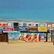 Cocoa Beach/cape Canaveral Pier Art Print