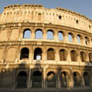 Coliseum. Rome Art Print by Bernard Jaubert