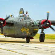 Consolidated B-24j Liberator Art Print