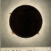 Corona Of The Sun During Total Eclipse Art Print