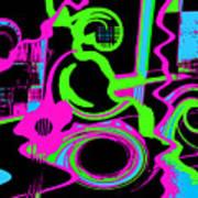 Cosmic Dj Art Print by Cristophers Dream Artistry