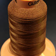 Cottons Threads Art Print