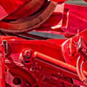 Crane Detail Art Print