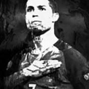 Cristiano Ronaldo Oki Art Print