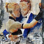 Dancing Tango Art Print