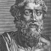 Demosthenes, Ancient Greek Orator Art Print