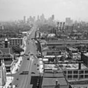 Detroit 1942 Art Print