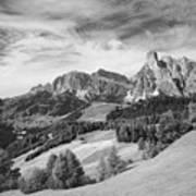 Dolomiti, Landscape Art Print