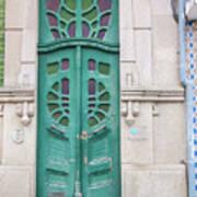 Doors Of Portugal  Art Print