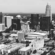 Downtown Charlotte Art Print