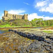 Dunvegan Castle Landscape Art Print