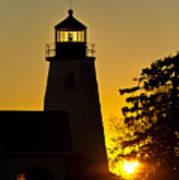 Dyce Head Lighthouse Art Print