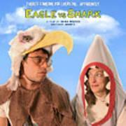 Eagle Vs Shark Art Print