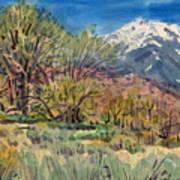 East Of The Sierra Nevadas Art Print