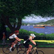 East Van Bike Ride Art Print
