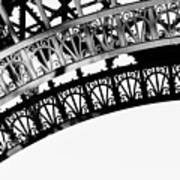 Eiffel Tower Detail Art Print