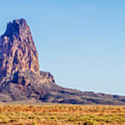 El Capitan Peak Just North Of Kayenta Arizona In Monument Valley Art Print