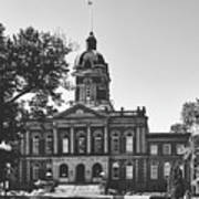 Elkhart County Courthouse - Goshen, Indiana Art Print