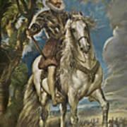 Equestrian Portrait Of The Duke Of Lerma Art Print