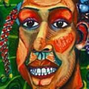 Faces Unseen Series Art Print