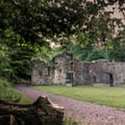Fairafar Mill, Cramond, Edinburgh Art Print
