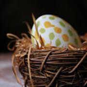 Fashionable Egg Art Print