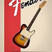 Fender Esquire 59 Art Print
