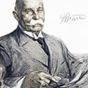 Ferdinand Von Zeppelin Art Print