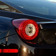 Ferrari Tail Light Art Print