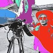 Film Homage Andy Warhol Lonesome Cowboys Old Tucson Arizona 1968-2013 Art Print