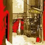 Film Noir William H. Macy Steve Buscemi Fargo 1996 Cheerio Bar Aberdeen South Dakota 1965-2008 Art Print