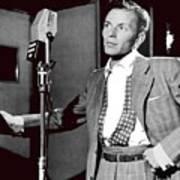 Frank Sinatra William Gottlieb Photo Liederkranz Hall New York City 1947-2015 Art Print