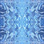 Frost Feathers Art Print
