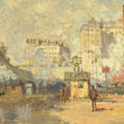 Gare Saint Lazare Art Print