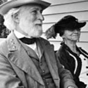 General Lee And Mary Custis Lee Art Print